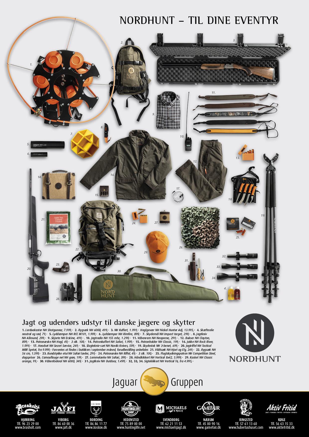 Nordhunt branding_produkter